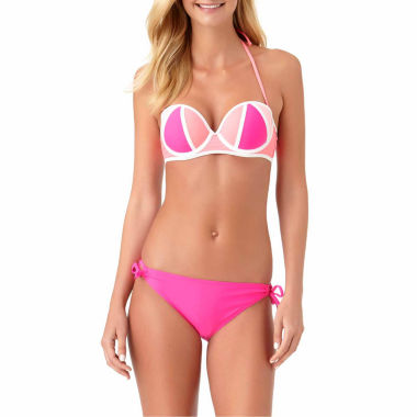 jcpenney.com | Arizona Bandeau Swimsuit Top or Side Tie Bottom-Juniors
