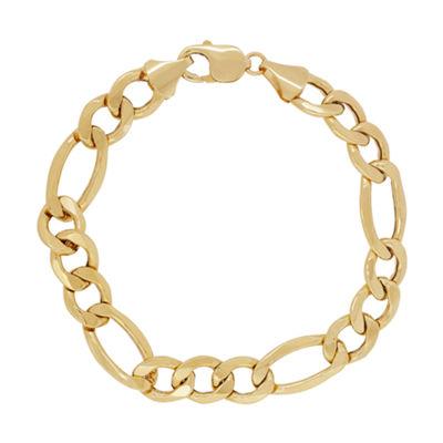 Fine Jewelry Mens 9 Inch 14K Gold Chain Bracelet J28cm6C