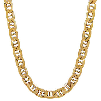Made In Italy 10k Gold 22 Inch Hollow Chain Necklace Jcpenney