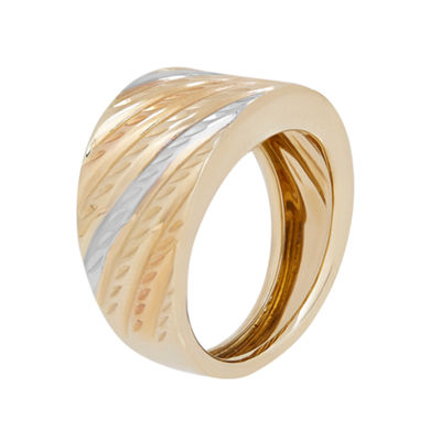 14K TC BAND RING