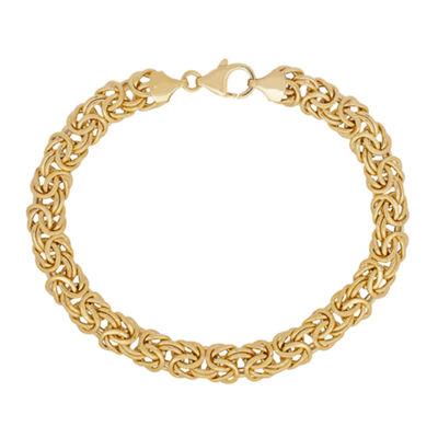 Fine Jewelry Womens 7 1/2 Inch 14K Gold Link Bracelet zrPnCO
