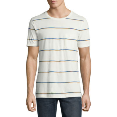 Arizona Short Sleeve Stripe Pocket T-Shirt