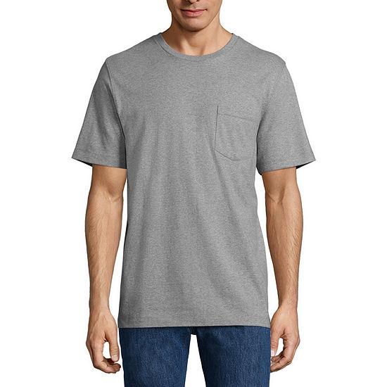 Big Mac Mens Crew Neck Short Sleeve Moisture Wicking T-Shirt