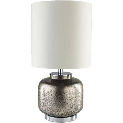 Décor 140 Ballas 24x13x13 Indoor Table Lamp - Silver