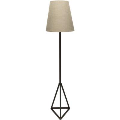 Décor 140 Barik 60x14x14 Indoor Floor Lamp - Black