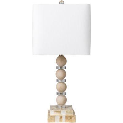 Décor 140 Deweyville 12x12x26.75 Indoor Table Lamp - Tan