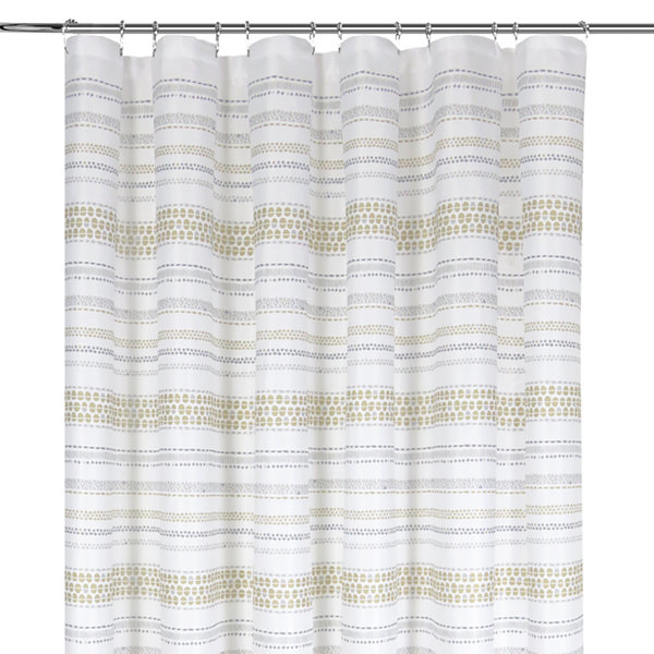Colordrift Pattern Printed Shower Curtain