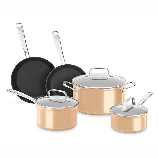 Kitchen Aid 8-pc. Hard Anodized Non-Stick Cookware Set