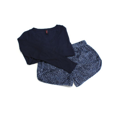 Maidenform Shorts Pajama Set