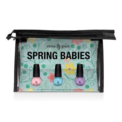 China Glaze Spring Babies Micro Mini Kit 3-pc. Nail Polish