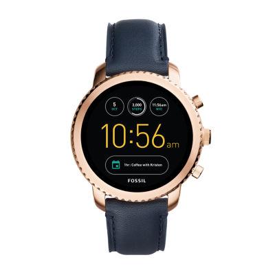 Fossil Q Gen 3 Womens Blue Smart Watch-Ftw4002