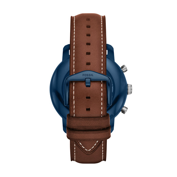 Fossil Q Unisex Brown Smart Watch-Ftw4004
