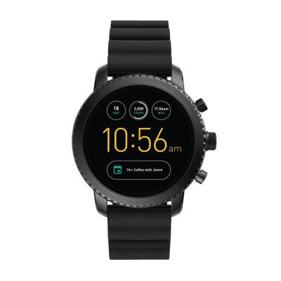 Fossil Q Gen 3 Unisex Black Smart Watch-Ftw4005