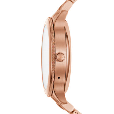 Fossil Q Unisex Rose Goldtone Smart Watch-Ftw6000