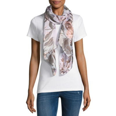 Mixit Oblong Floral Scarf