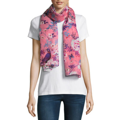 Mixit Oblong Abstract Scarf