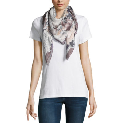 Mixit Square Floral Scarf