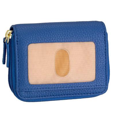 Buxton RFID Blocking Wizard Accordian Wallet