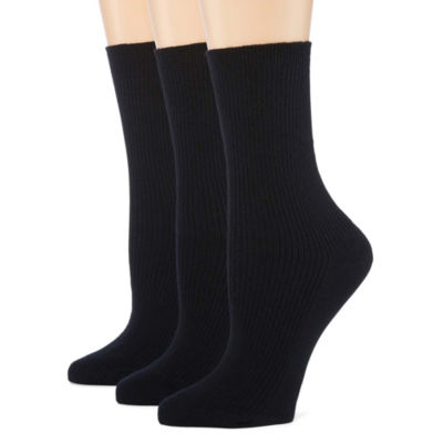 Berkshire Non Binding Crew 3 Pair Socks - Extended Sizes