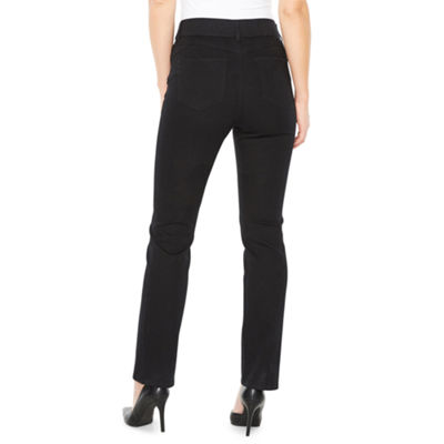 St. John's Bay Straight Fit Straight Leg Jeans - Tall