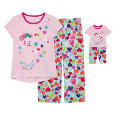 2pc Pant Pajama Set Girls & Doll PJs