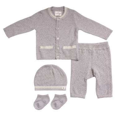 Cuddl Duds 4-pc. Layette Set-Baby Unisex