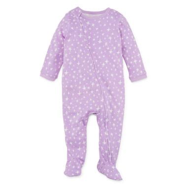 Okie Dokie Panda Full Zip Sleep and Play - Baby Girl Newborn-9M