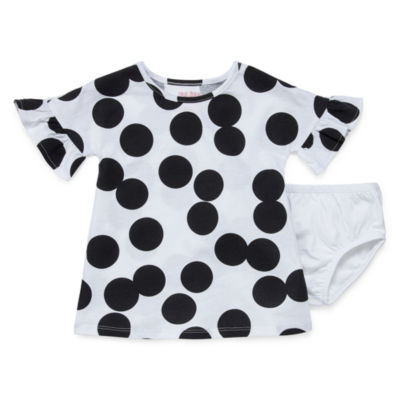 Okie Dokie Bell Sleeve Dress - Baby Girl NB-24M