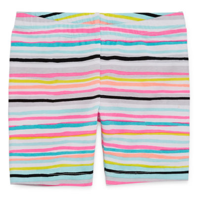Okie Dokie Pull-On Bike Shorts Toddler Girls