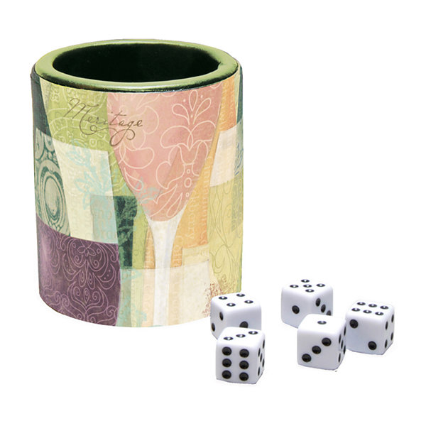 LANG Bottles & Glasses Dice Cup