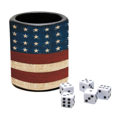 LANG Grand Old Flag Dice Cup
