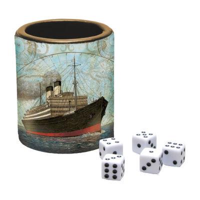 LANG Vintage Travel Dice Cup