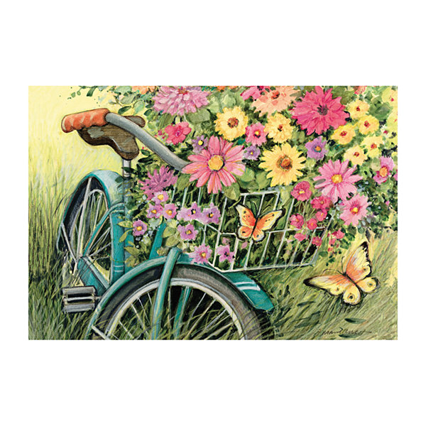 LANG Bicycle Boquet Puzzle - 1000 Pc