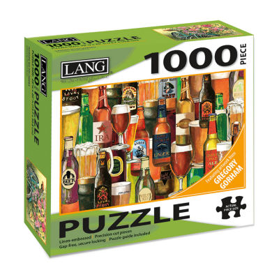 LANG Crafted Brews Puzzle - 1000 Pc