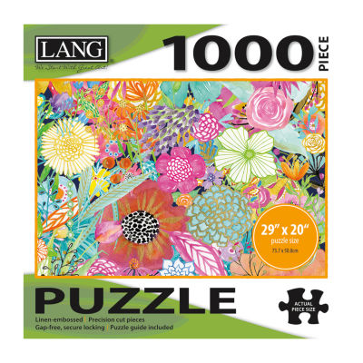LANG Garden Wildflowers Puzzle - 1000 Pc