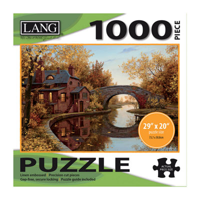 LANG House By The River Puzzle - 1000 Pc