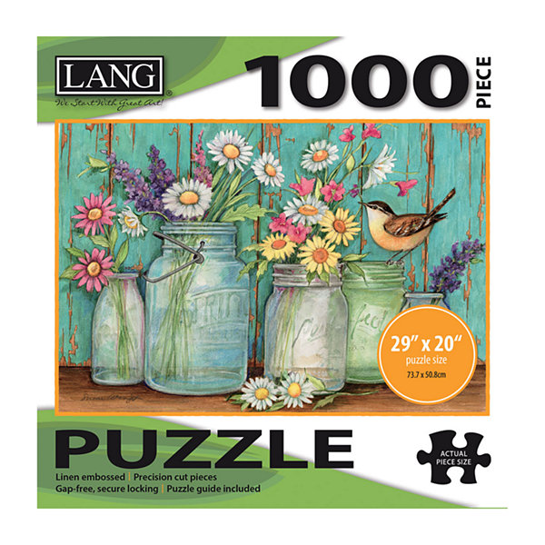 LANG Mason Flowers Puzzle - 1000 Pc