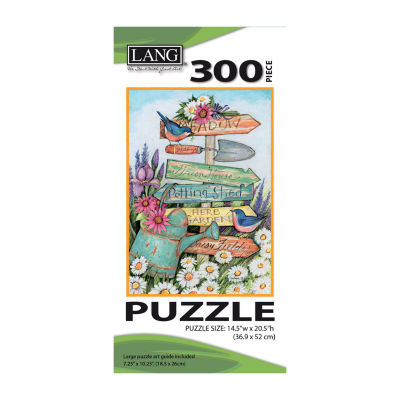 LANG Garden Sign Puzzle - 300 Pc