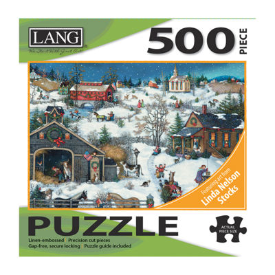 LANG Christmas Memories Puzzle - 500 Pc