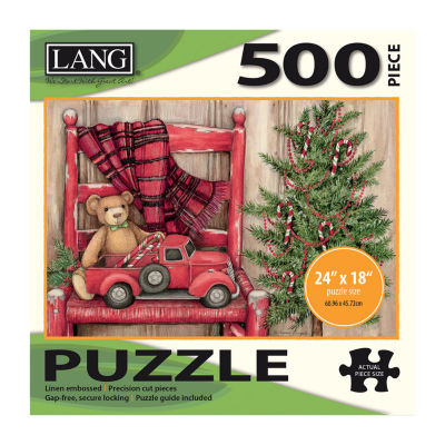LANG Bear In Chair Puzzle - 500 Pc