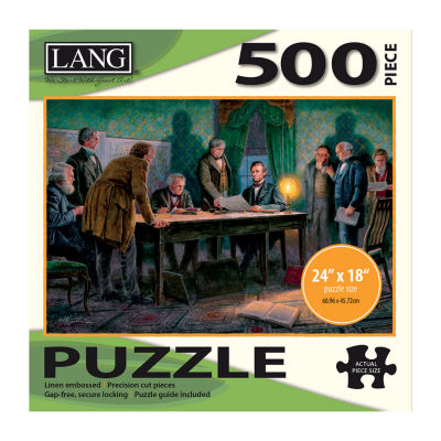 LANG General Orders Puzzle - 500 Pc