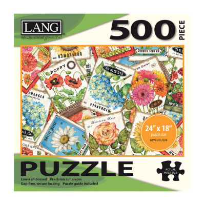 LANG Seed Packets Puzzle - 500 Pc