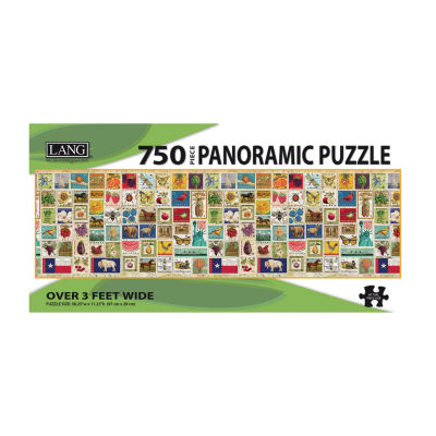 LANG Stamp Collection Puzzle - 750 Panoramic