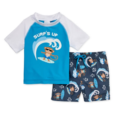 Kiko & Max Rash Guard Set - Baby