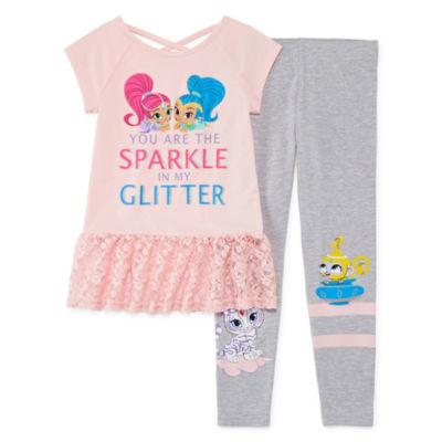 Shimmer And Shine 2-pc. Legging Set Girls