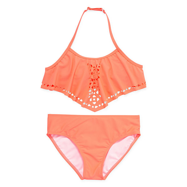 City Streets Girls Bikini Set - Girls' 4-16 & Plus