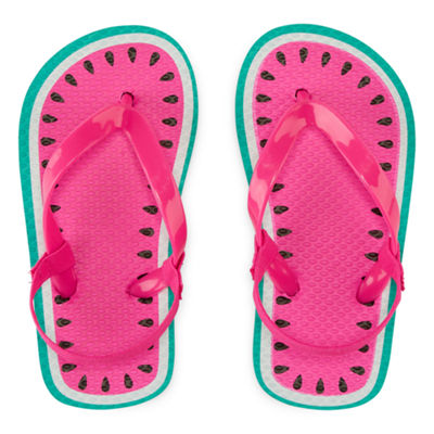 Okie Dokie Flip-Flops - Toddler Girls