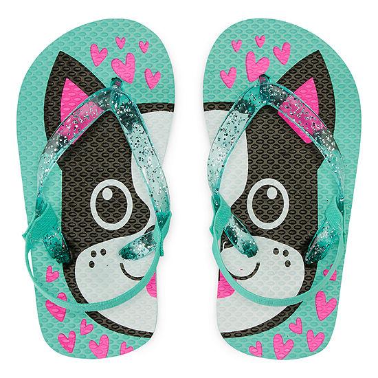Okie Dokie Flip-Flops - Toddler Girls