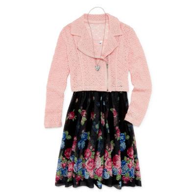 Knit Works Jacket Dress Girls