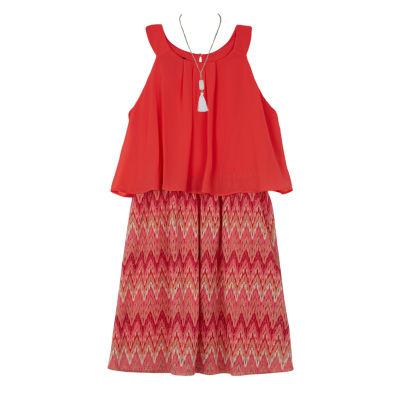 by&by Sleeveless Party Dress - Preschool Girls